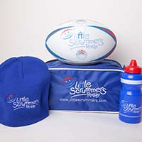 Little Scrummers Bundle: Bag, Ball, Water Bottle & Hat