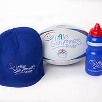Little Scrummers Bundle: Ball, Water Bottle & Hat